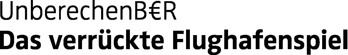 UnberechenBER – Das verrückte Flughafenspiel Logo
