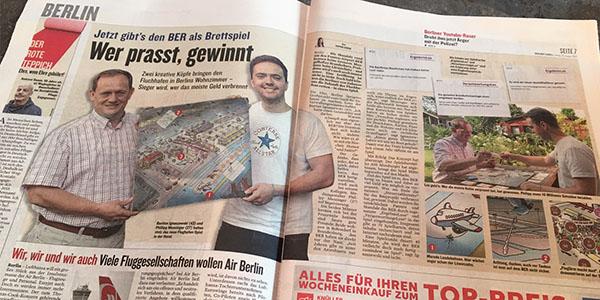 2017-08-25 Flughafenspiel im Berliner Kurier