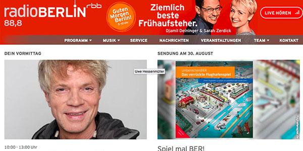 2017-08-30 Flughafenspiel bei radio berlin rbb