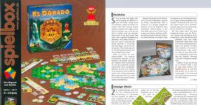 Flughafenspiel im Brettspielmagazin Spielbox. Ausgabe 5/2017